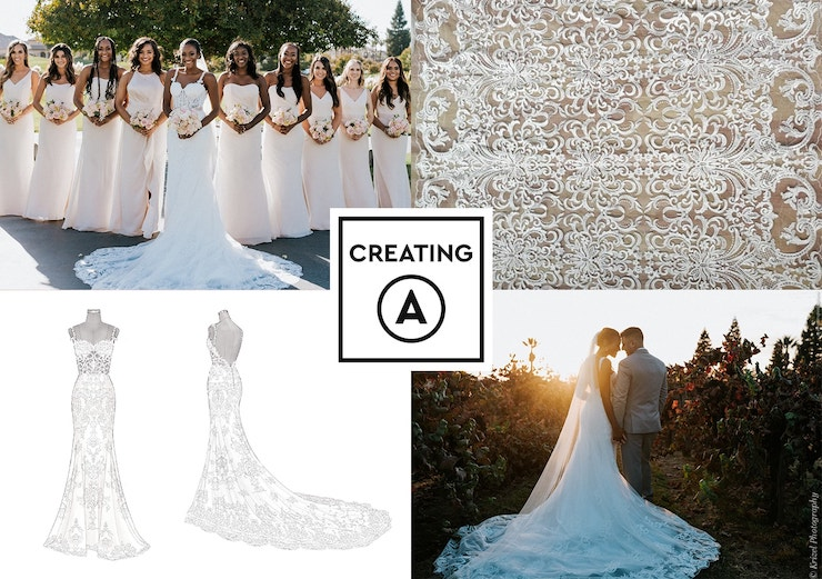 748c3184b118 Anomalie brings more transparency, customization and value to wedding dress  shopping by partnering with the world's top dress designer workshops and  selling ...
