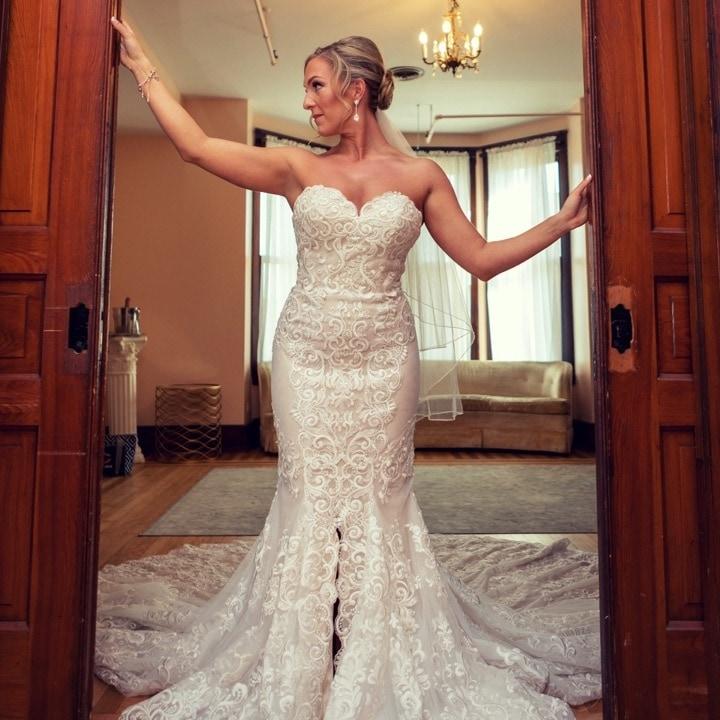 Anomalie Custom Wedding Dress Inspiration Real Brides